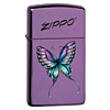 Zippo Slim Colorful Butterfly