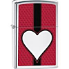 Zippo Chrome Heart Chromed Out
