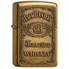 Zippo Jack Daniel's Label Brass