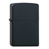 Zippo Media Chrome Black Matte
