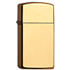 Zippo Slim Brass High Polished