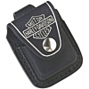Zippo Lighter Pouch Harley Davidson Black / Loop