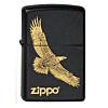Zippo Eagle Black