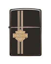 Zippo Harley Davidson Black/Gold kopen