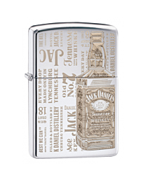 Zippo Jack Daniel's Bottle Chrome kopen