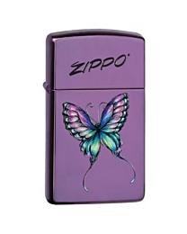 Zippo Slim Colorful Butterfly kopen