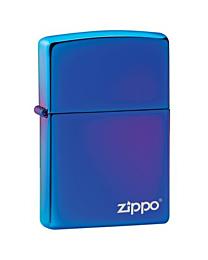 Zippo High Polish Indigo met Zippo Logo (opt. Graveren) kopen