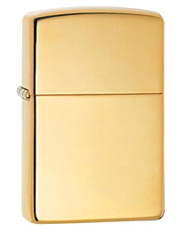 Zippo Brass High Polished (opt. Graveren) kopen