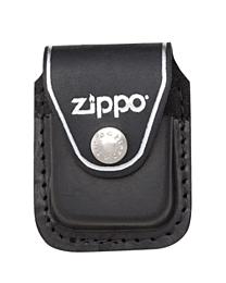 Zippo Leather Pouch Case Black / Loop Etui met Zippo Logo kopen