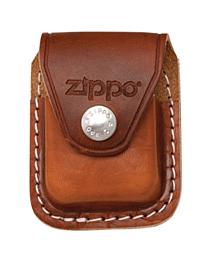 Zippo Lederen Etui Pouch Case Brown / Clip kopen