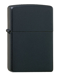 Zippo Media Chrome Black Matte kopen