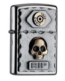 Zippo Skull R.I.P. -