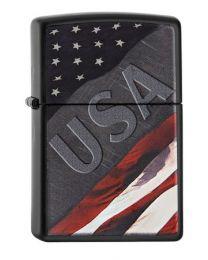 Zippo USA Flag Design -