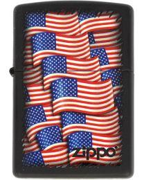 Zippo American Flags -