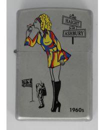 Zippo Windy Girl 1960s -