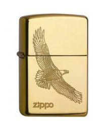 Zippo Large Eagle Brass -
