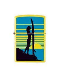 Zippo Surfer Girl -