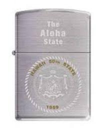 Zippo The Aloha State -
