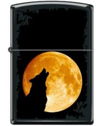 Zippo Wolf Howling To The Moon -