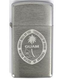 Zippo Slim Guam Seal -