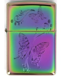 Zippo Spectrum Butterflies -