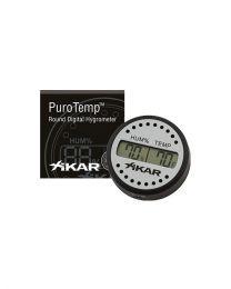 Xikar PuroTemp Hygrometer Digitaal Rond -
