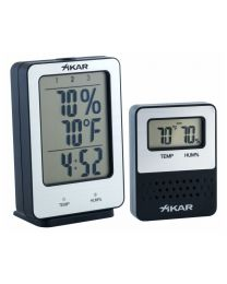 Xikar PuroTemp Digital Hygrometer Wireless Remote System -