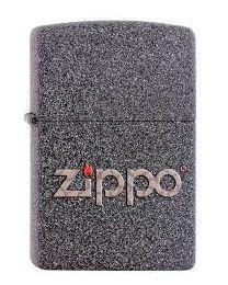 Zippo Snakeskin Zippo Logo -