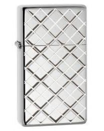 Zippo Slim Argyle (Armor Case) -