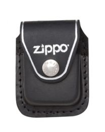 Zippo Lighter Pouch Black / Clip -