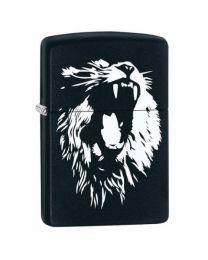 Zippo Asian Lion With Fangs -