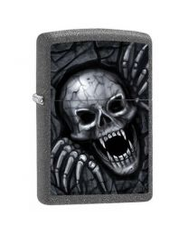 Zippo Skull Clawing Out -