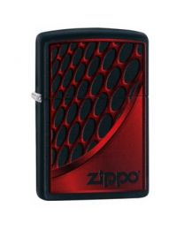 Zippo Red and Chrome -