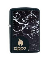 Zippo Black Marble Zippo -