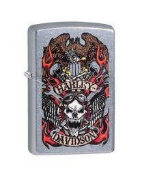 Zippo Harley Davidson Skull -