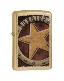 Zippo Sheriff Badge -