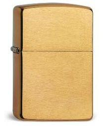Zippo Brass Brushed (Armor Case) -