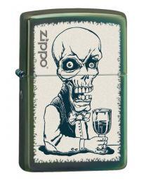 Zippo Skeleton Bartender -