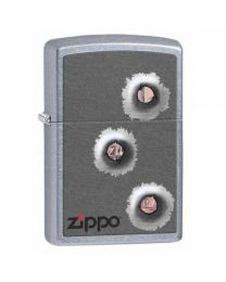 Zippo Bullet Holes -
