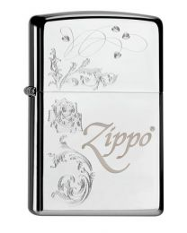 Zippo With Pattern -