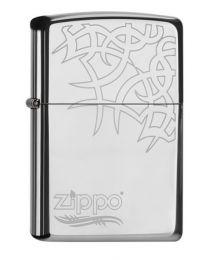Zippo Tribal Tattoo -