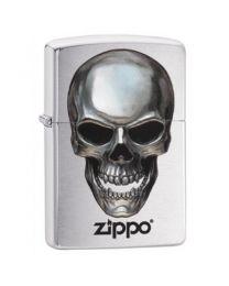 Zippo Metal Skull -