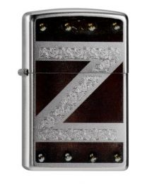 Zippo Leather And Metal Design -