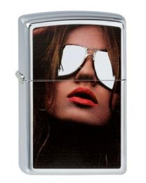 Zippo Cool Woman Chromed Out -